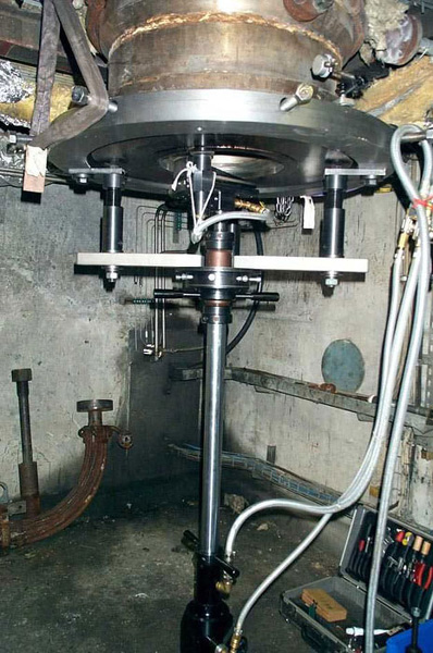 Шлифовальная обработка вварного клапана станком unigrind HTS