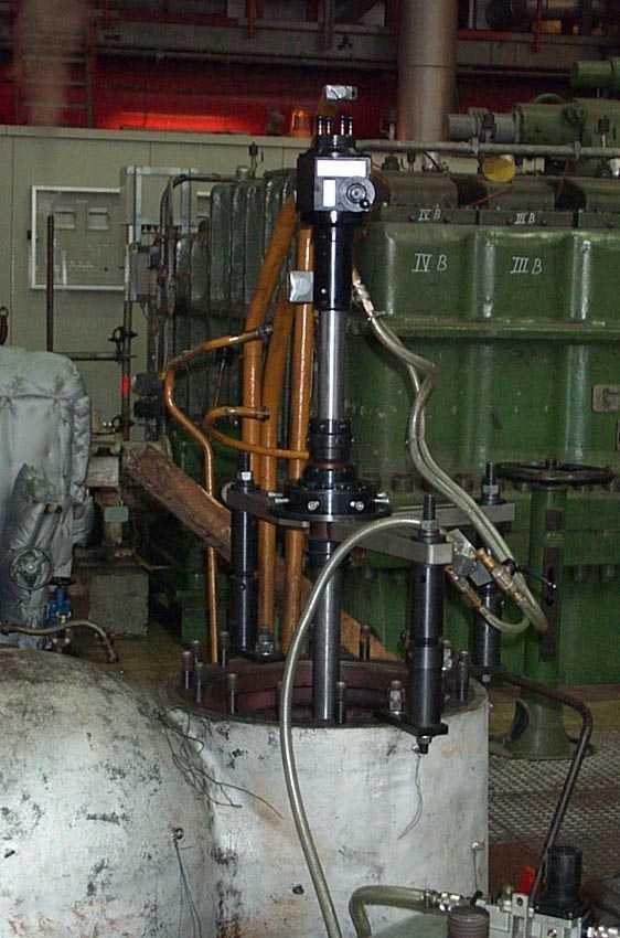 Шлифовальная корпуса насоса станком unigrind SVS1
