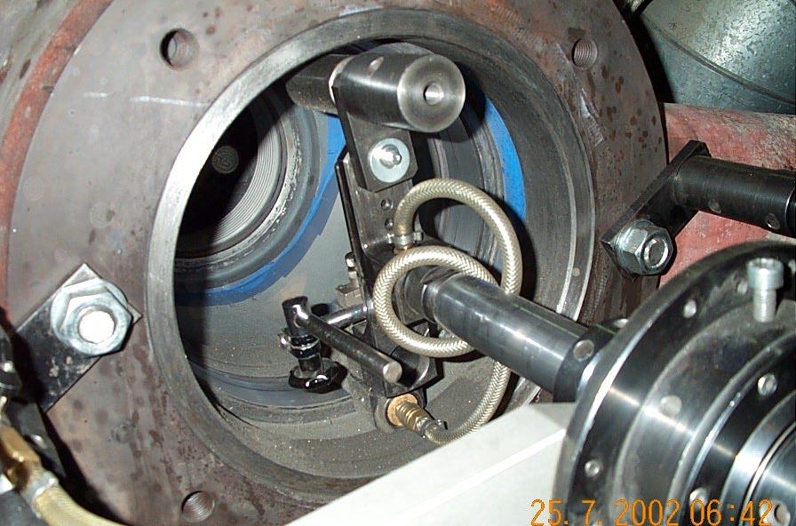 Шлифовка клапана станком unigrind HTS