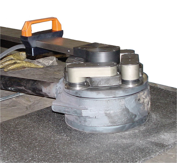unigrind SHS600 обработка клина задвижки