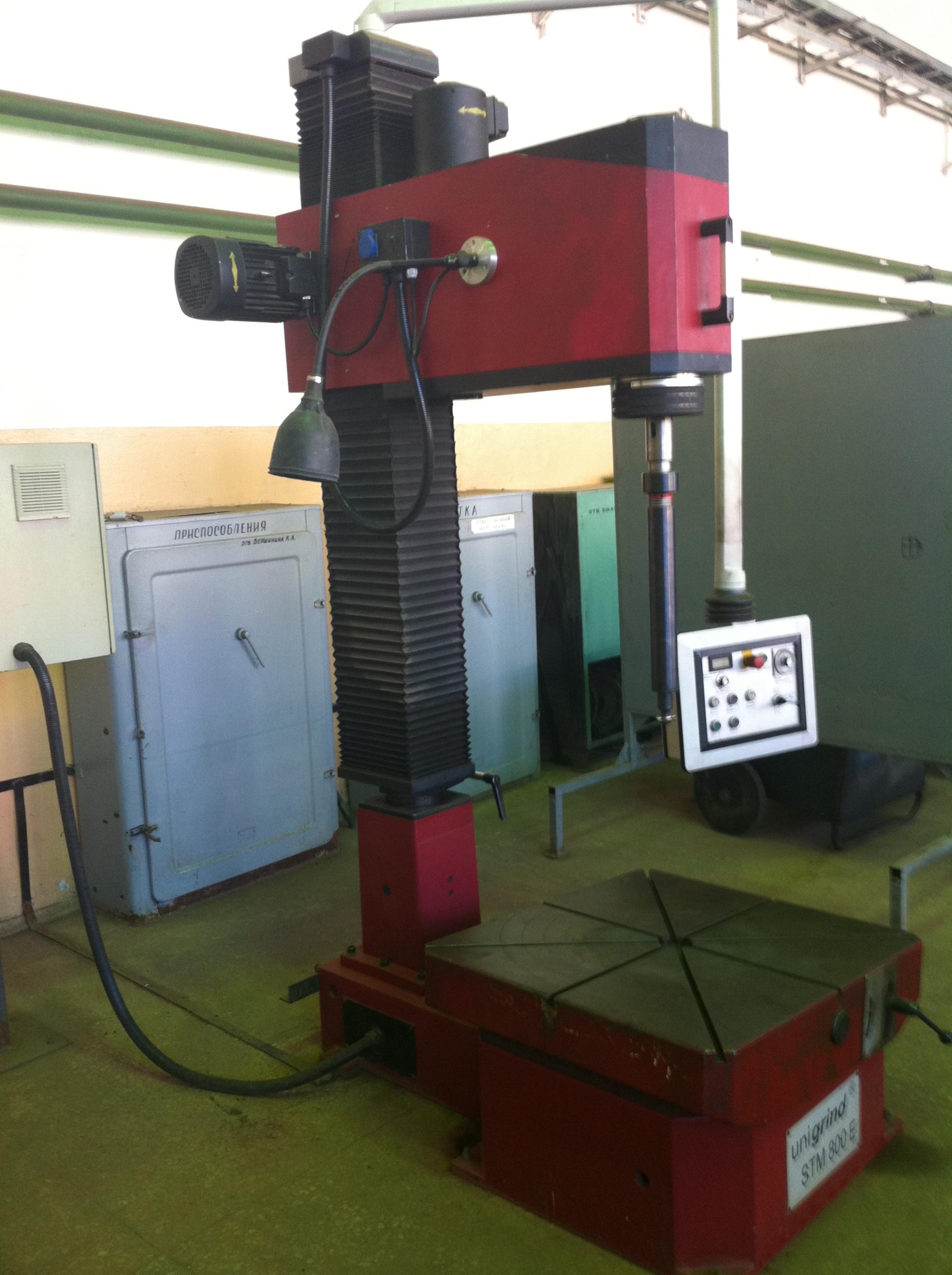 Стационарный шлифовальный станок unigrind STM 800E