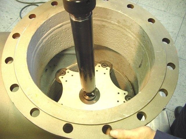 обработка корпуса задвижки на unigrind STM 800