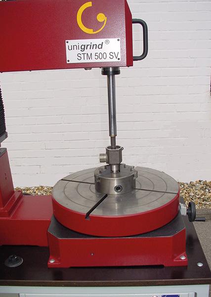 обработка корпуса клапана на unigrind STM 500