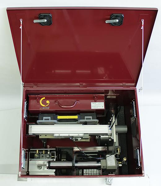 комплект поставки станка шлифовального unigrind SVS1