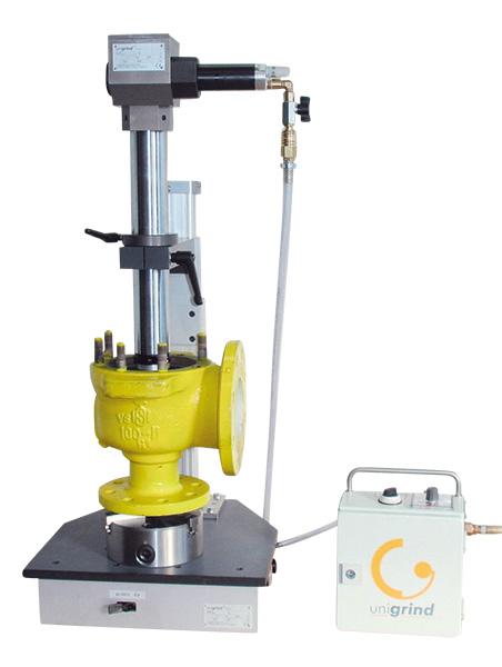 Переносной шлифовальный и притирочный станок unigrind SVS1