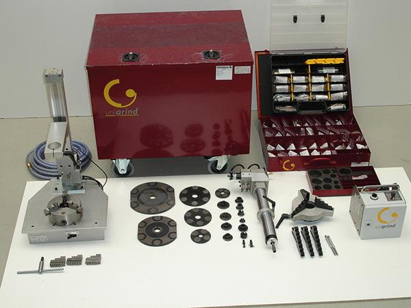 комплект поставки станка unigrind SVS1