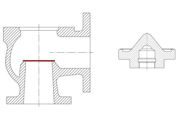 обрабатываемые поверхности unigrind SVS